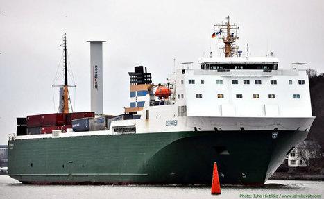 Sea trials confirm Rotor Sail fuel savings | Offshore Australia | Scoop.it