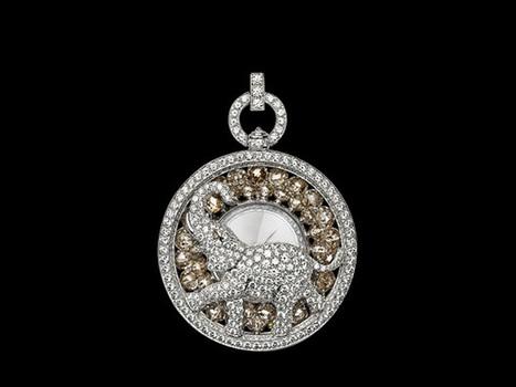 Haute Watch of the Week: Cartier Les Heures Fabuleux Pocket Watch - Haute Living | antiques information | Scoop.it