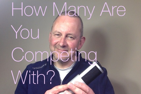 Gary Terzza's Voice-Over Blog UK: Voice Over Competition: Let's Look At The Numbers | Voice Over Training, Advice and Useful Bits | Scoop.it