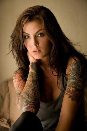 TATTOOS ON GIRLS--HOT? NOT? | My Bookmarks | Scoop.it