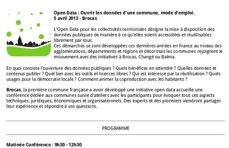 Projet Pilote d'Ouverture des Petites Communes | Logiciels libres,Open Data,open-source,creative common,données publiques,domaine public,biens communs,mégadonnées | Scoop.it