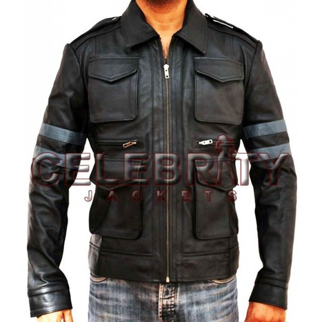 Resident Evil 6 Leon Scott Kennedy Leather Jacket | Celebrity Movie And Gaming Jackets | Scoop.it