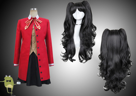 Fate/Stay Night Rin Tohsaka Cosplay Costume + Wig | Anime Cosplay Costumes | Scoop.it