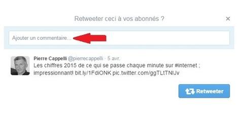 Twitter ajoute un espace de 116 caractères pour commenter lors d'un Retweet - #Arobasenet.com   Journaliste, web, réseaux sociaux   Scoop.it