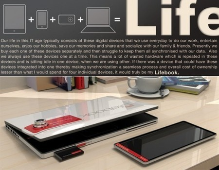 Fujitsu's modular laptop/tablet/smartphone concept | Gadgets I lust for | Scoop.it
