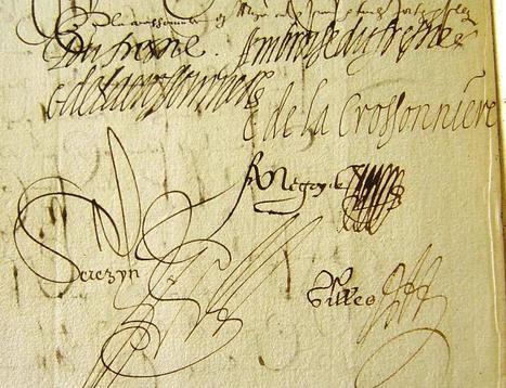 MODES de VIE aux 16e, 17e siècles » Archive du blog » Ambroise Dufresne emprunte 5 120 livres pour financer partie de la dot de sa fille Gabrielle de la Crossonnière, Mozé 1606   blog de Jobris   Scoop.it