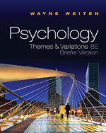 Weiten, Psychology: Themes and Variations, Briefer, 8e | Psych | Scoop.it