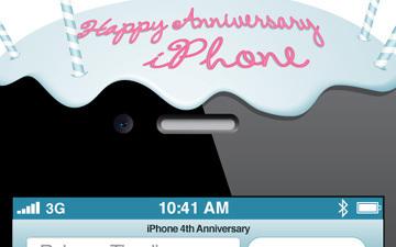 Happy 4th Anniversary, iPhone [INFOGRAPHIC] | New Digital Media | Scoop.it