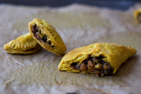 Jamaican Veggie Patties Recipe - 101 Cookbooks | Meatless mondays | Scoop.it