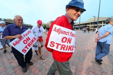 Adjunct Profs Turn to Citywide Unionizing as Their Best Hope | Higher Education | Scoop.it