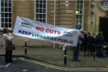 Protesters took to city streets to say 'no' to library closures | School Library Digest | Scoop.it