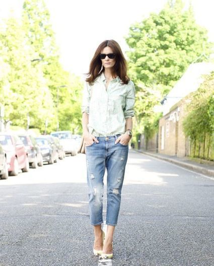 Boyfriend Jeans Outfit Ideas You Can Follow Right Now! » Celebrity Fashion, Outfit Trends And Beauty News | Fashion Style And Beauty Tips | Scoop.it