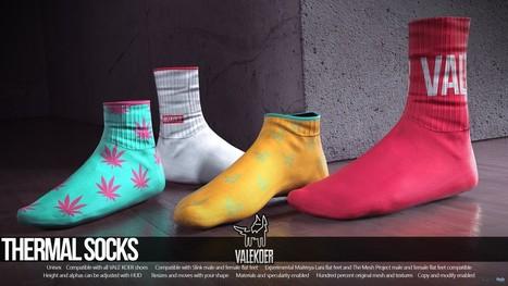 Thermal Socks Group Gift by VALE KOER   Teleport Hub - Second Life Freebies   Second Life Freebies   Scoop.it