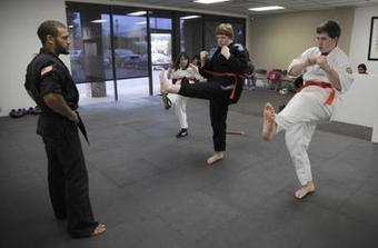 Martial arts class helps develop physical skills, self-confidence - The Spokesman Review | Krav Maga | Scoop.it