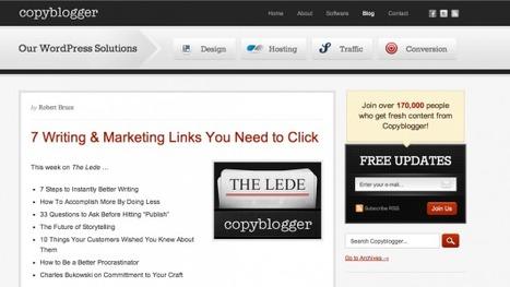 I Migliori Blog Al Mondo Per Imparare Come Gestire un Blog Wordpress   Fare Blogging!   Scoop.it