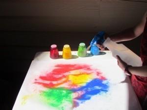 Colorful sprinkle paint pictures | Teach Preschool | Scoop.it