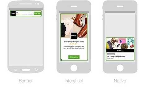 Facebook propose de la pub mobile et vient concurrencer AdMob   PPC référencement payant   Scoop.it