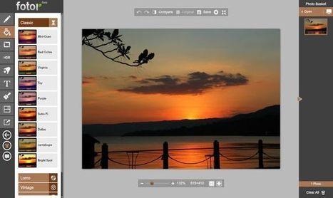 Fotor, extraordinario y completo editor de imágenes en línea y gratuito | Desarrollo de Apps, Softwares & Gadgets: | Scoop.it