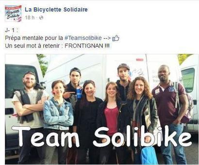 10 jeunes bénévoles du SPF réalisent 420 km avec labicyclette solidaire | Initiatives solidaires | Scoop.it