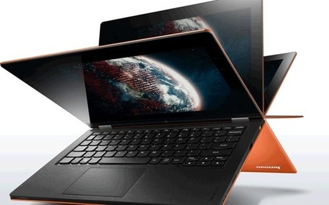 Lenovo Ideapad Yoga hands on review: is it a laptop or a tablet? - Telegraph.co.uk | Buy computers | Scoop.it