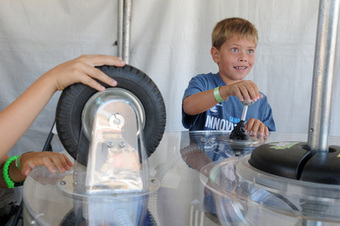 Inventors, innovators, gamers and geeks gather at first Marin Mini Maker Faire - Marin Independent Journal | Makerspaces | Scoop.it