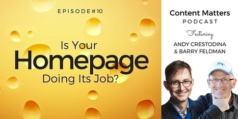 Is Your Digital Marketing in Distress? It's Time to Revisit Your Homepage Design. [Podcast, Ep. 10] - Orbit Media Studios | Website Pages Advice | Scoop.it