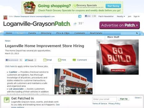 Loganville Home Improvement Store Hiring | House Magazine | Home Remodeling Loganville | Scoop.it