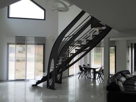 Escalier design Graphique | Escalier Design Mobilier Contemporain de style Art Nouveau | Scoop.it