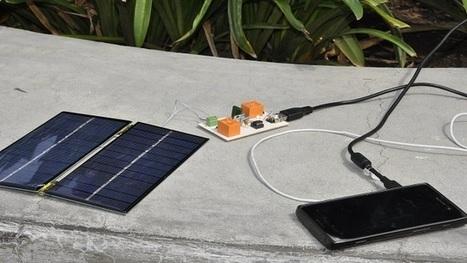 Alumnos del IPN crean cargador solar para dispositivos móviles   El mundo ahora es Mobile   Scoop.it