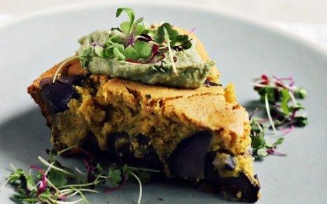 Chickpea Frittata With Purple Potatoes and Thai Basil [Vegan, Gluten-Free]   Vegan Food   Scoop.it