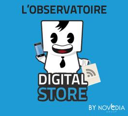 Digital-store : L'Observatoire de la digitalisation des points de vente by Novedia | Digital experience in store | Scoop.it