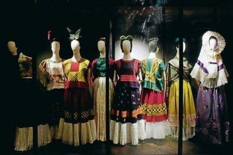 Vestidos de Frida Kalho salen a la luz después de medio siglo | Correo del Orinoco | Diseño de modas | Scoop.it