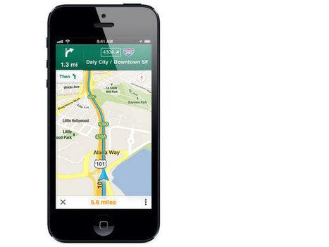 Google Maps para iOS supera los 10 millones descargas en menos de 48 horas | Apps para móviles iOS, Blackberry y Android | Scoop.it