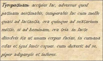 Pequeño LdN: Tyropatina: Un postre romano   Los Placeres de la Mesa   Scoop.it