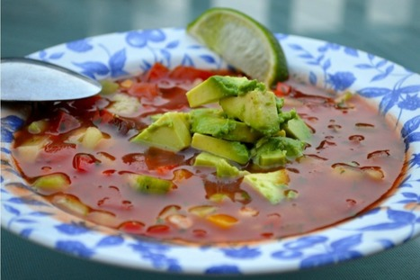 Chipotle Gazpacho [Vegan, Gluten-Free] | Health, Food Security, Nutrition, & Recreation | Scoop.it
