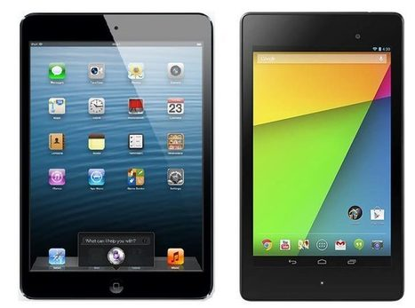 iPad mini 2 vs. Nexus 7 2 evolution misunderstood - Phones Review   electronic   Scoop.it
