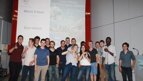 1er Challenge Entrepreneuriat de l'Institut Mines-Télécom : les élèves-ingénieurs des écoles Mines et Télécom planchent pour inventer la ville intelligente de demain - Institut Mines-Télécom | Startup | Scoop.it