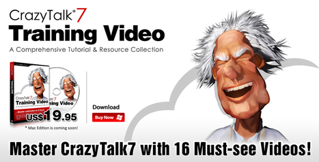 CrazyTalk7 Training Video - Master CrazyTalk with 16 Must-See Videos! | Wolf and Dulci Links | Scoop.it