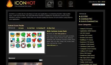 IconHot, más de 60000 iconos gratuitos para usar en tus proyectos | Recull diari | Scoop.it