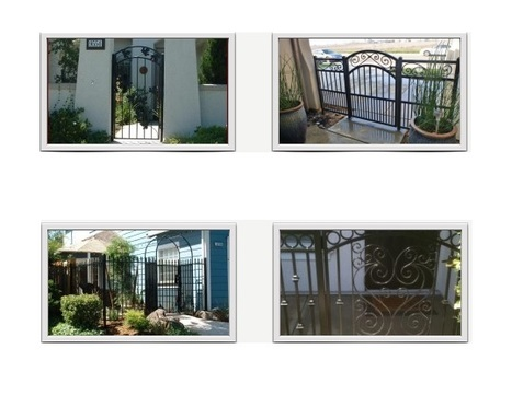 Iron Gates and Fences – New Designs and High Quality | Ornamental Iron | Wrought iron fencing | Driveway gate | Scoop.it