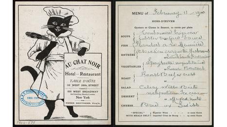 See beautiful photos of vintage New York restaurant menus | New York When | Scoop.it