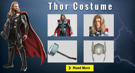 The Ultimate Thor Costume Guide for Cosplay and Halloween | celebrities Leather Jackets | Scoop.it