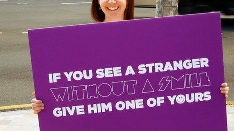 Havas Worldwide Australie redonne le sourire aux commuters | streetmarketing | Scoop.it
