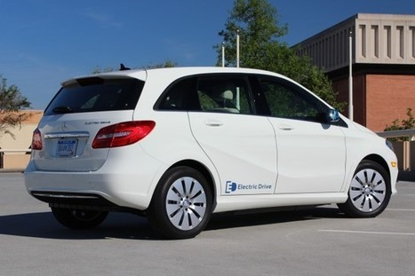 Mercedes B-Class Electric Car Cuts Lifetime Carbon Emissions Up To 64 Percent | Electric Cars in the UK | Scoop.it