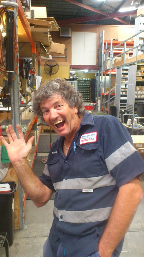 Errol Disson, store master, Insight to OHS | Focus Quest 2, 3 & 4 submission OHS safety Accident forensics | Scoop.it