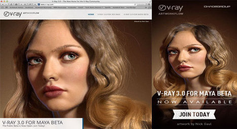 Chaos group unveils V-Ray 3.0 for Maya/Beta 2 | 3d information 2013 | Scoop.it