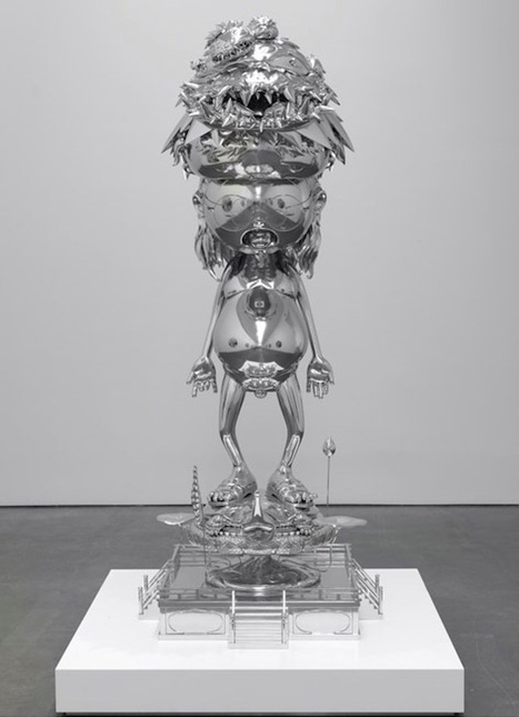 """Takashi Murakami Presents """"In the Land of the Dead, Stepping on the Tail of a Rainbow""""   Life+Times   Arts   Scoop.it"""