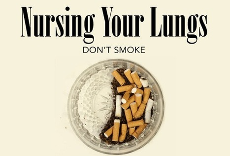 Visualistan: Nursing Your Lungs Don't Smoke [Infographic] | Health | Scoop.it