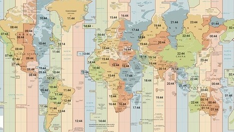 5 Quick Tools for Visualizing Time Zones | TEFL & Ed Tech | Scoop.it