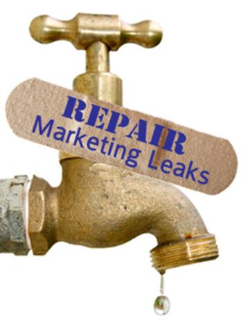Repair the Leaks in Your Marketing | ❤ Social Media Art ❤ | Scoop.it